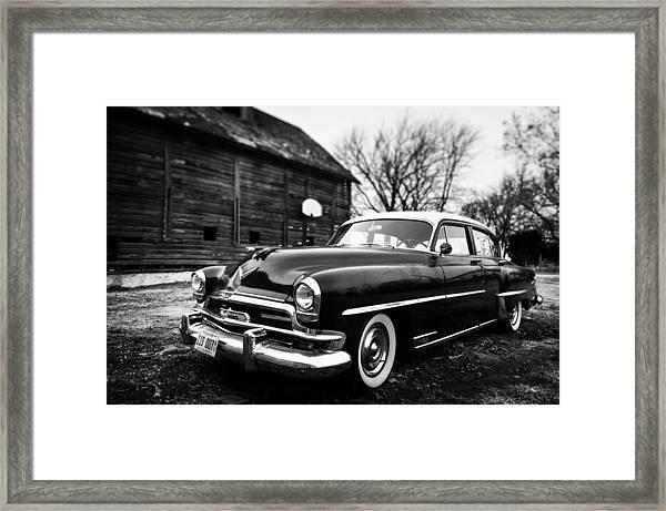Cruisin' The Farm Framed Print