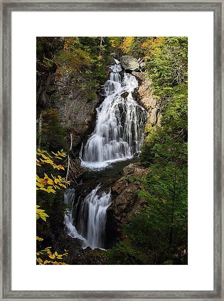 Crystal Cascade Framed Print