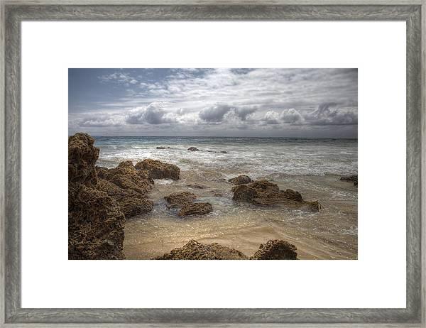 Crystal Cove Beach Framed Print