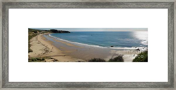 Crystal Cove View - 01 Framed Print