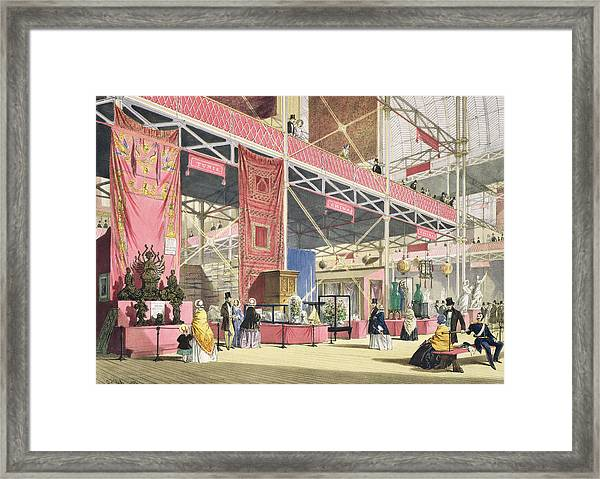 Crystal Palace, The Tunis And China Framed Print
