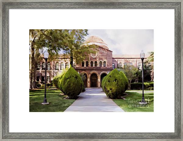 Csu Chico - Kendall Hall Framed Print