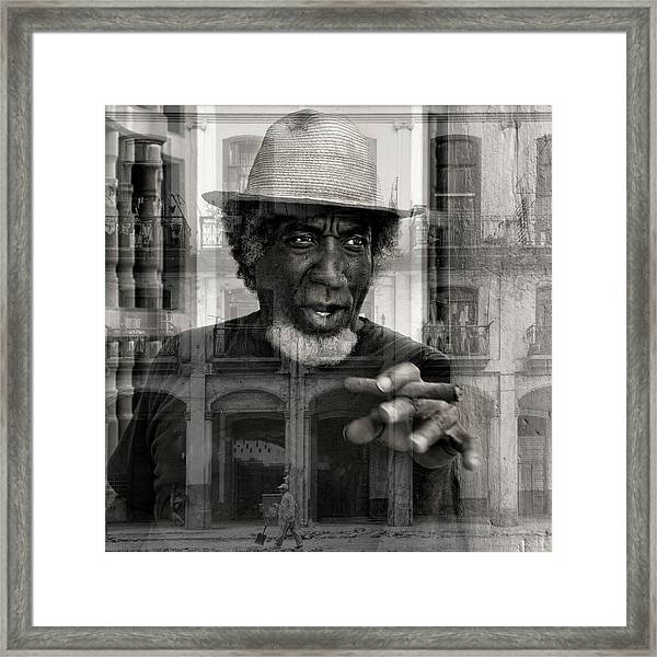 Cuba - Pure Framed Print by Marianne Wogeck