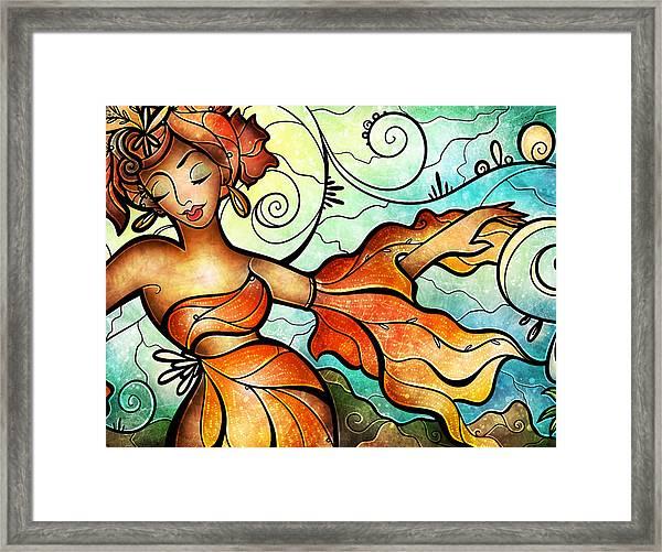 Cubana Framed Print