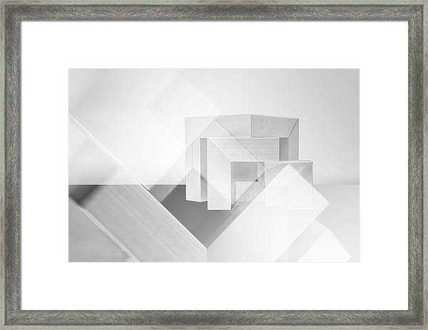 Cubic Framed Print