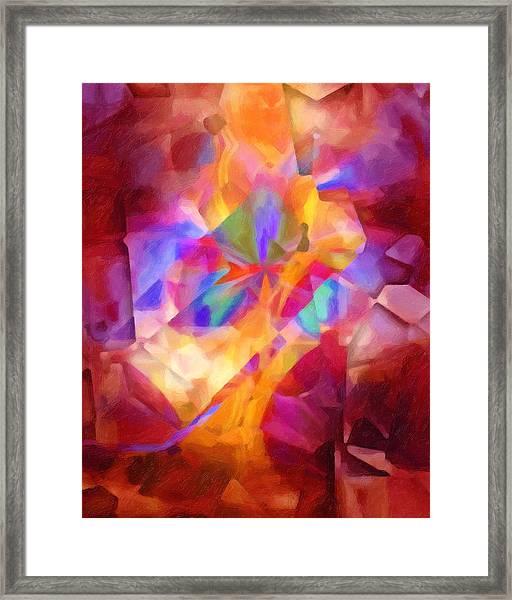Cubicscape Artisan Framed Print