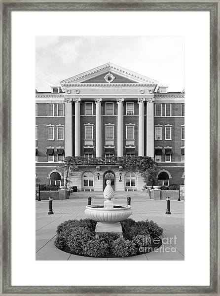 Culinary Institute Of America Roth Hall Framed Print