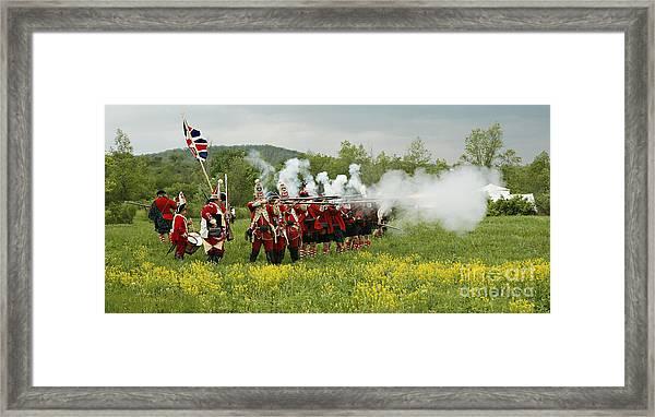 Culloden Loyalists Framed Print
