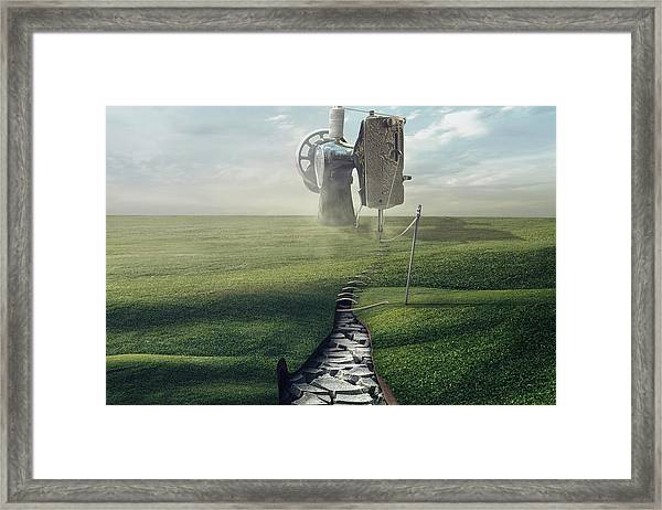 Cultivate The Ground Framed Print