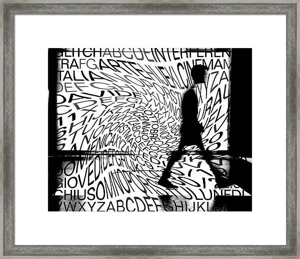 Cultural Dynamism Framed Print