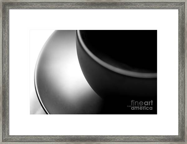 Cup And Saucer Framed Print