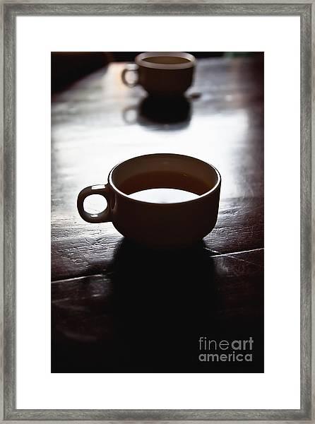 Cup Of Joe Framed Print