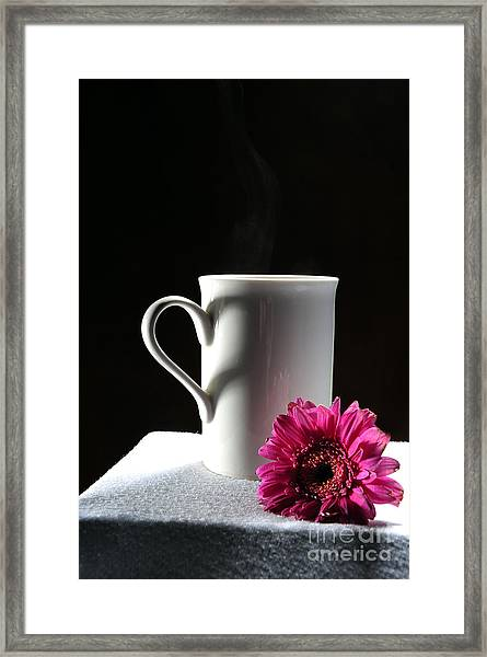 Cup Of Love Framed Print