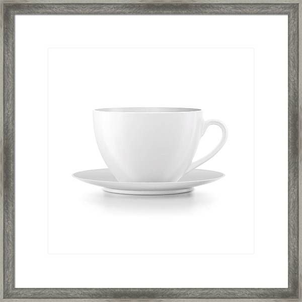 Cup Framed Print by Samarskaya