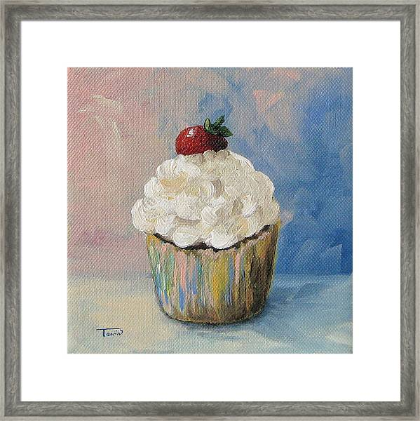 Cupcake 005 Framed Print by Torrie Smiley