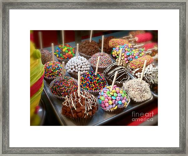Cupcakes Galore Framed Print