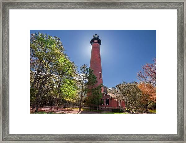 Currituck Beach Lighthouse  Framed Print
