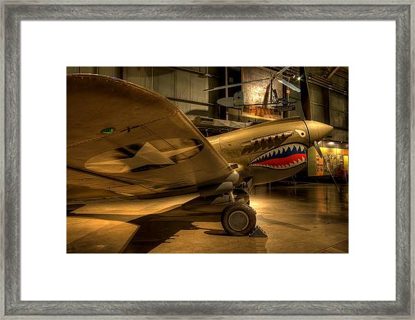 Curtiss P-40 Warhawk Framed Print