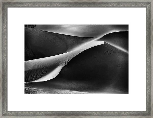 Curvatures Framed Print by Rami Al Adwan