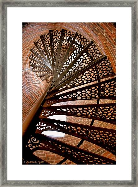 Curves Of Steel Framed Print