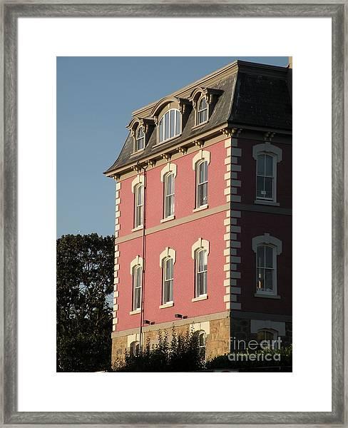 Customs House Framed Print by Val Carosella