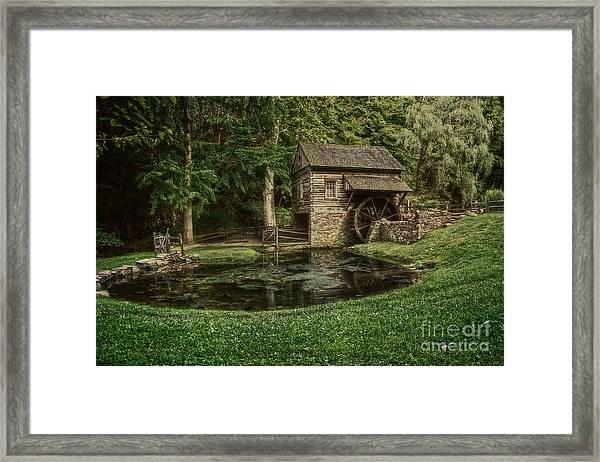 Cuttalossa Farm In Summer I Framed Print