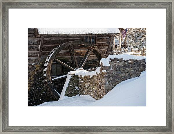 Cutalossa Water Wheel Framed Print
