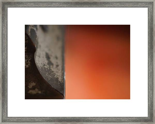 Cutting Angles 2 Framed Print