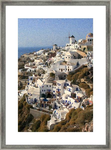 Cyclades Grk4309 Framed Print