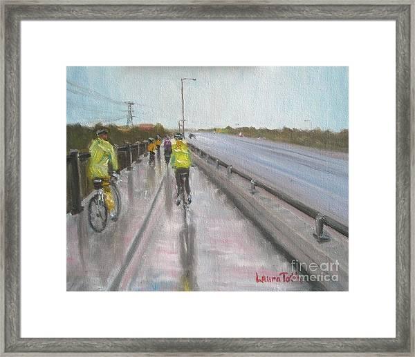 Cycle Club Framed Print