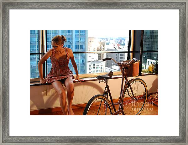 Cycle Introspection Framed Print