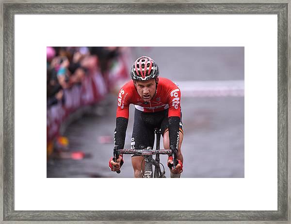 Cycling: Eroica - 11th Strade Bianche 2017 / Men Framed Print by Tim de Waele