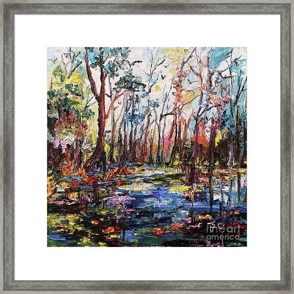 Cypress Gardens South Carolina Framed Print