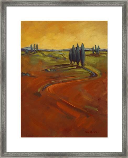 Cypress Hills 3 Framed Print