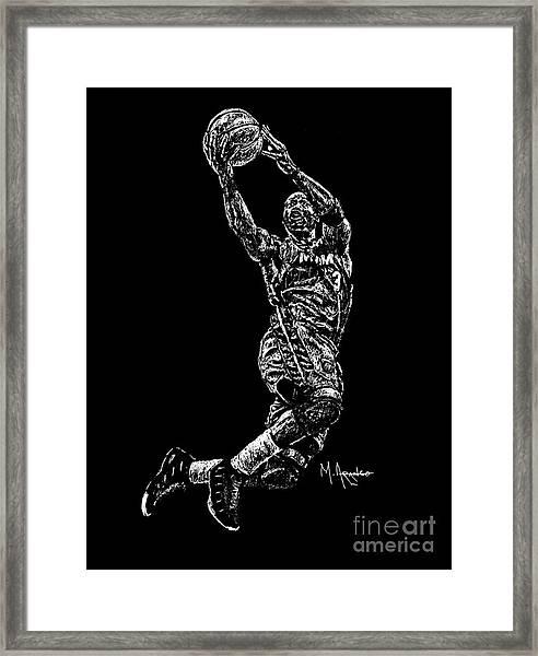 D. Wade Framed Print