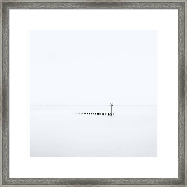 D??? X Framed Print