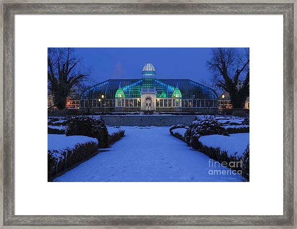 D5l-280 Franklin Park Conservatory Framed Print