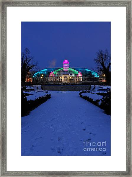 D5l287 Franklin Park Conservatory Photo Framed Print