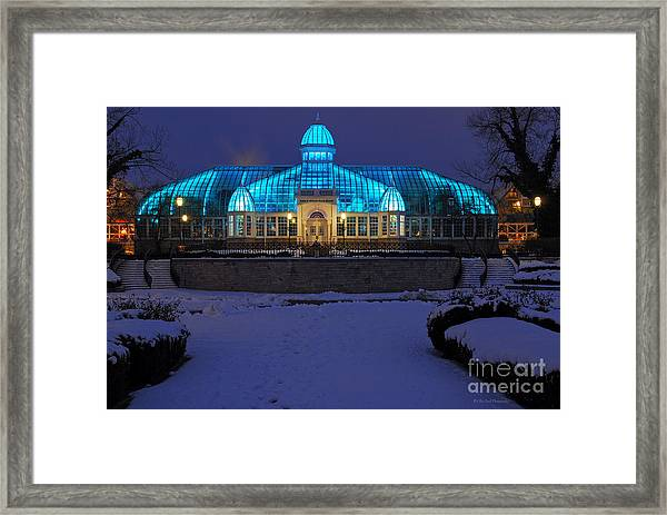D5l-291 Franklin Park Conservatory Photo Framed Print