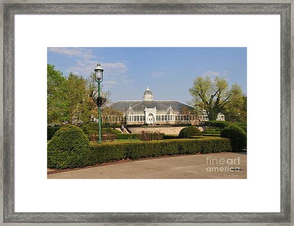 D5l311 Franklin Park Conservatory Framed Print