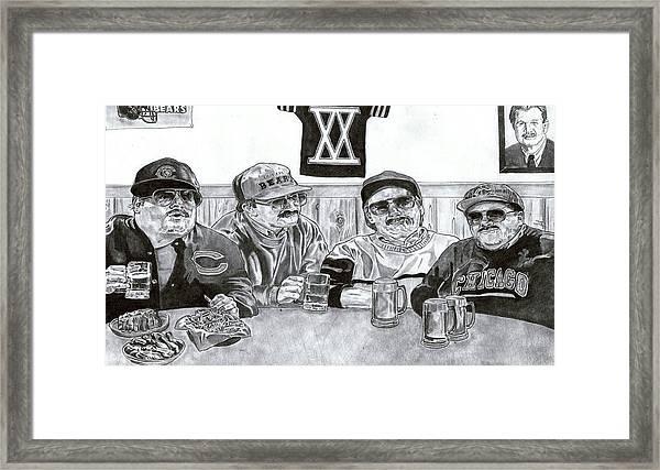 'da Bears' Framed Print