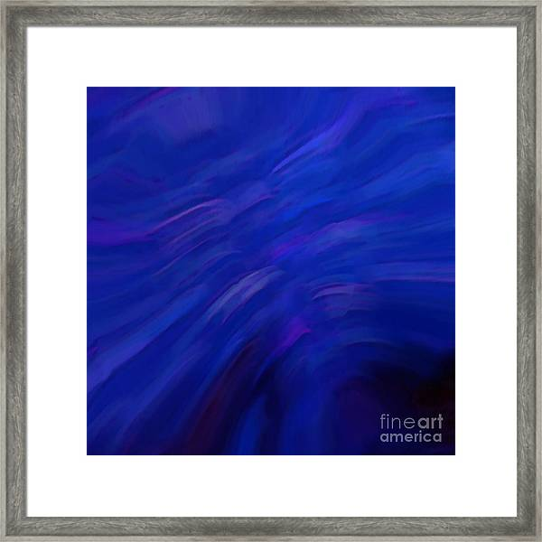 Da Blues Framed Print