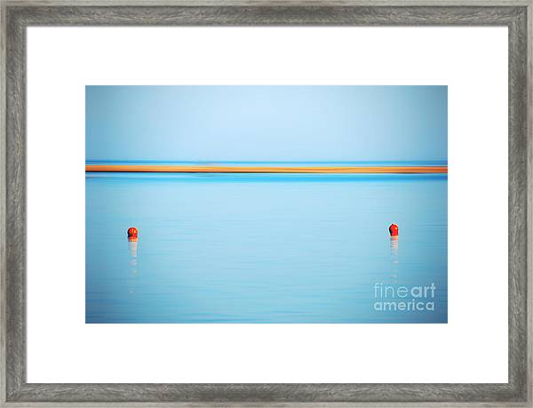 Dahab - Red Sea Framed Print