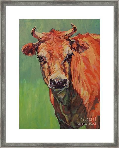 Dairy Queen Framed Print