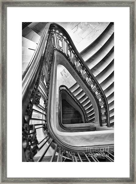 Dali Stairs Framed Print