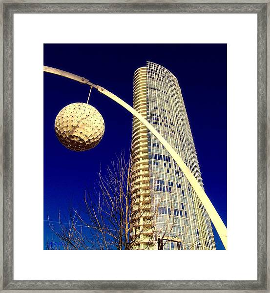 Dallas Museum Tower Framed Print