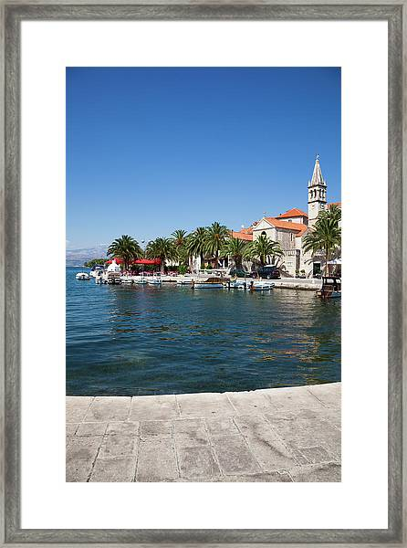 Dalmatian Panorama Framed Print by Photovideostock