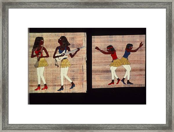 Dance And Flute Framed Print