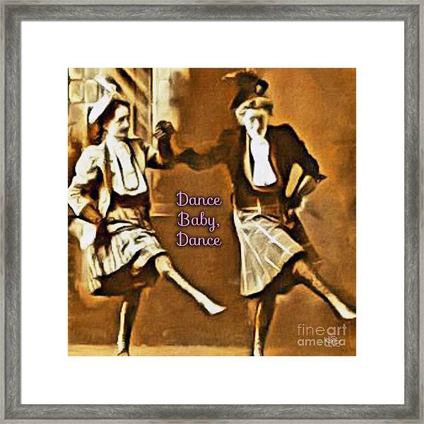 Dance Baby Dance Framed Print
