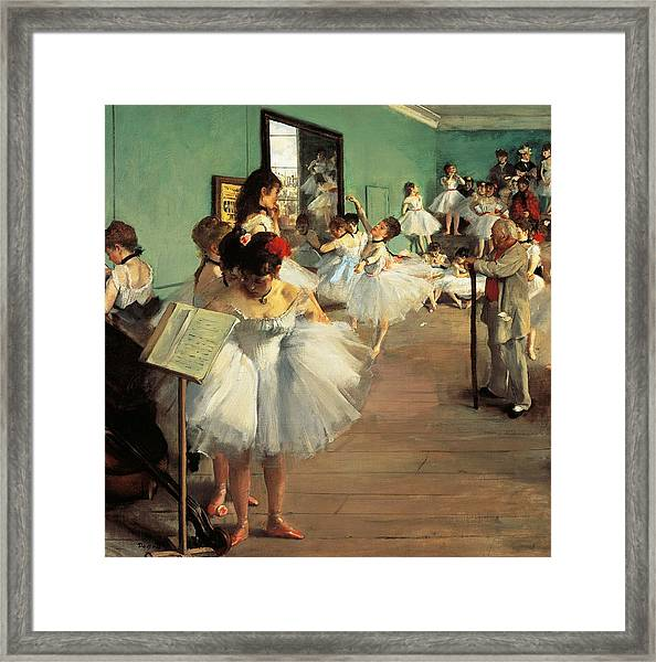 Dance Examination Framed Print